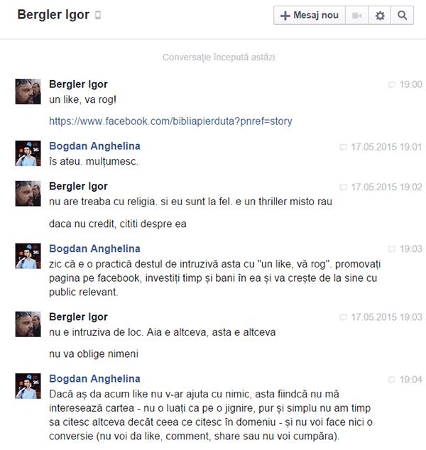 Discuție Bergler Igor (1)
