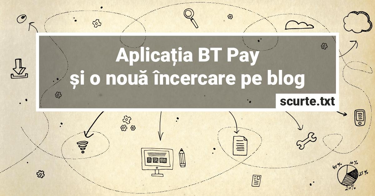 Aplicatia BT Pay