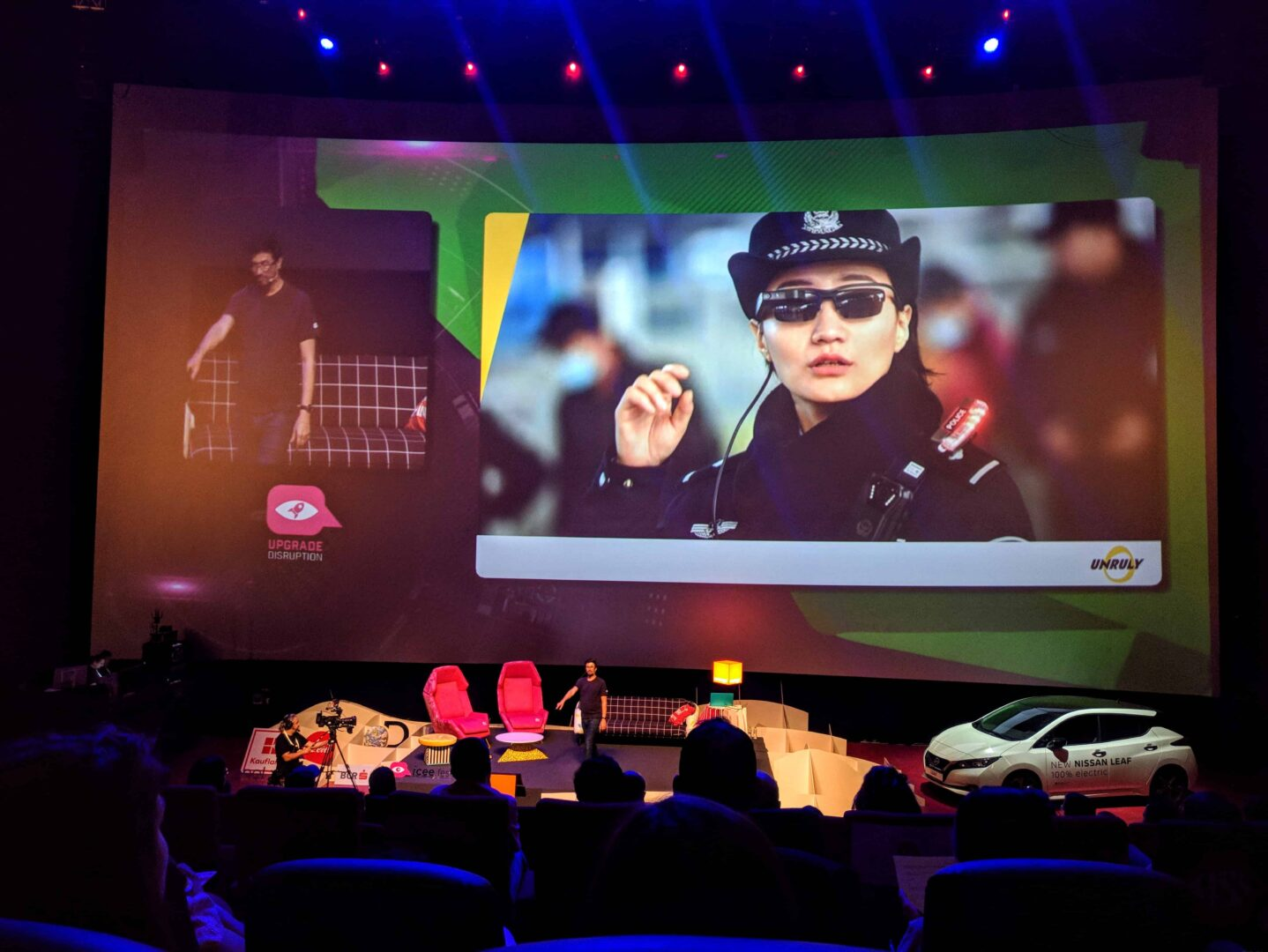Ochelari inteligenti politie China